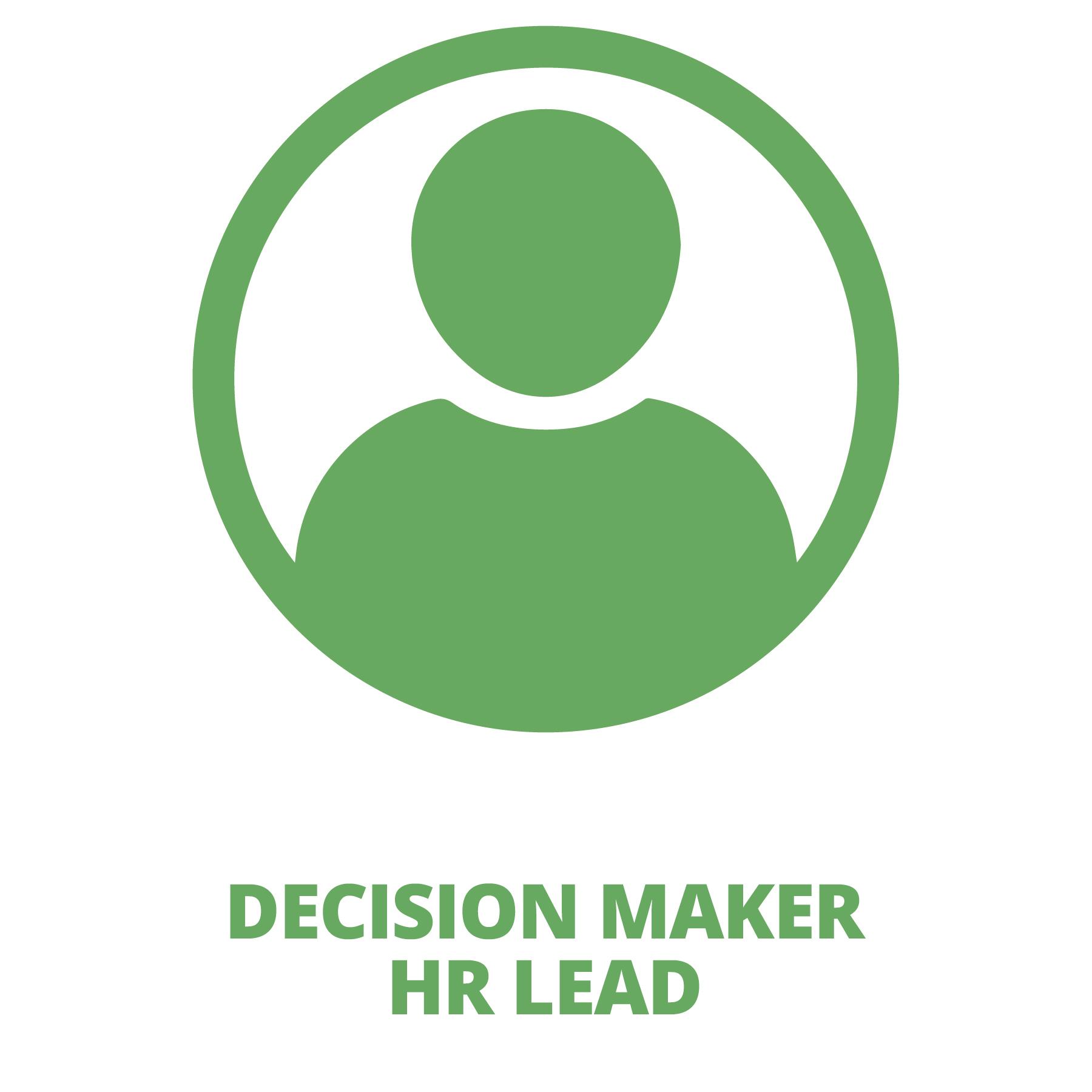 Decision Maker / HR Lead